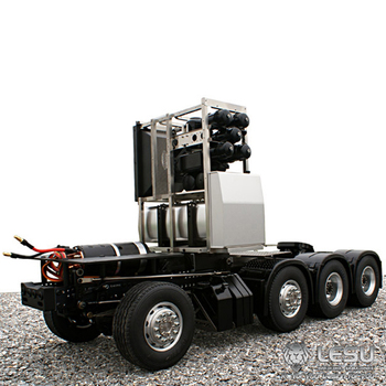 1/14 truck BENZ Actros 1851.3363 full drive 8X8 heavy duty tractor chassis high torque electric model LS-20130010 RCLESU Tamiya