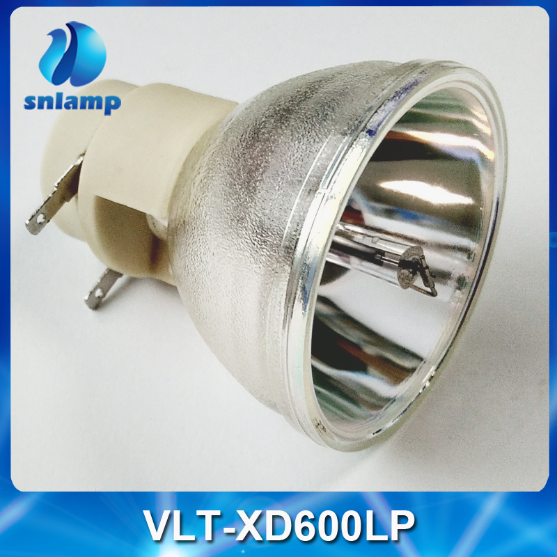 Replacement Projector Lamp Bulb VLT XD600LP for FD630U/WD620U/XD600/XD600LP/XD600U-in Projector Bulbs from Consumer Electronics    1