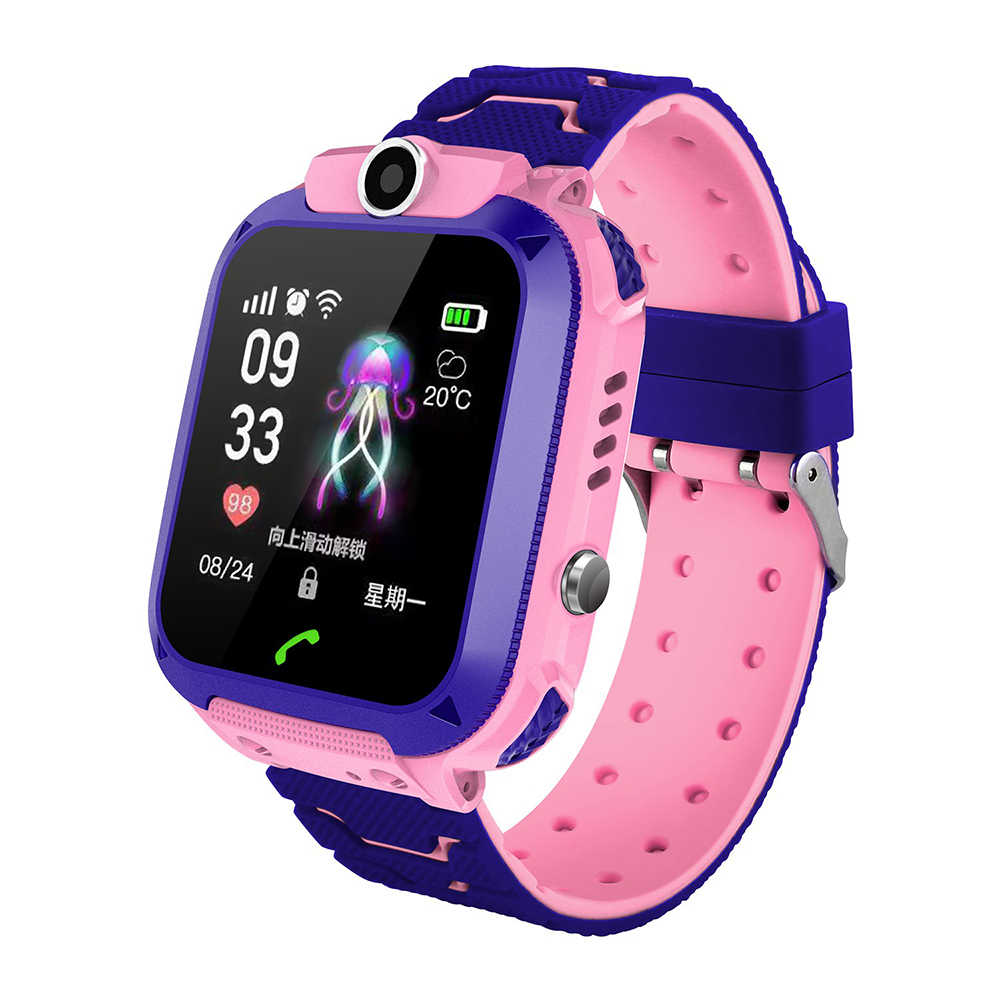 2019 Smart Watch LBS Child Baby Watch Child SOS Call Location Finder Locator Tracker Anti-lost Monitor for IPhone Xiaomi Android