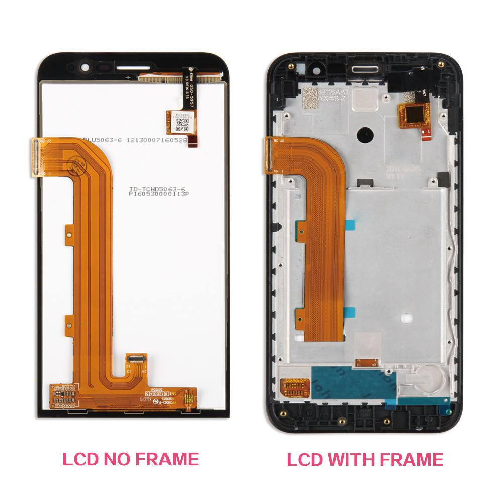 Black For ASUS Zenfone Go ZB500KL X00AD LCD Display Touch Screen Digitizer Full Glass Assembly Replacement Parts