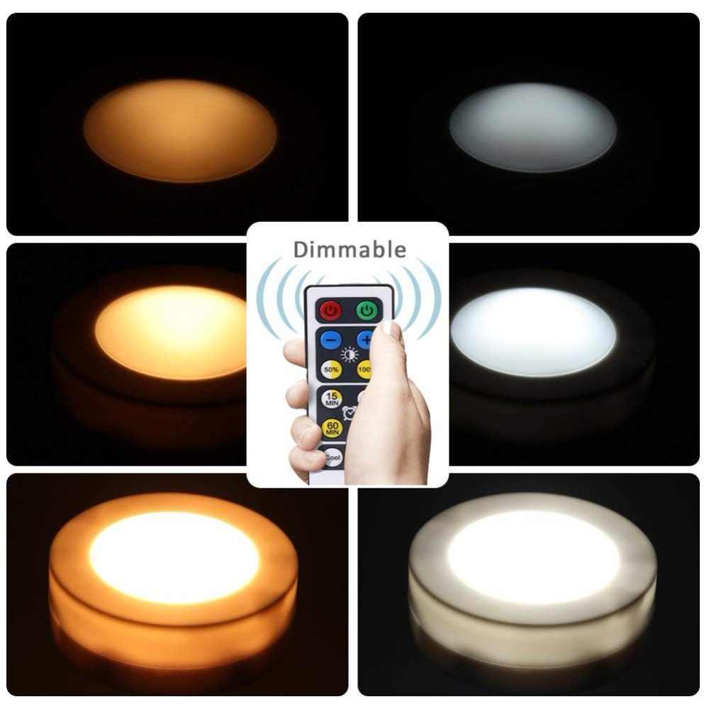 Диммируемый двойной цвет Светодиодные шайбы сенсорный датчик светодиодный кухонный шкаф под шкаф освещение шкаф лестница Прихожая Ночная лампа