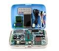 Бесплатная доставка!!! 1 компл. ARM + AVR + 51 singlechip развития борту обучения доска STM32F103 ATMEGA16A