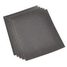 230x280mm grit 180 400 800 1000 1200 molhado e seco, lixa de papel impermeável abrasivo polimento folhas de folhas