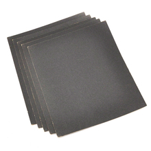 5Pcs 230x280mm Grit 180 400 800 1000 1200 1500 2000 Wet and Dry Sandpaper Polishing Abrasive Waterproof Paper Sheets