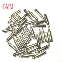 цена на 12Pcs The arrow shaft parts 6mm 7mm 8mm 45# arrow arrow coat steel plating + shooting hunting accessories