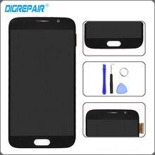 Azul Para Samsung Galaxy S6 G920 G920f pantalla Táctil Pantalla LCD con Digitalizador de Montaje completo de piezas de repuesto + herramientas de Reparación