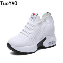 Women Breathable Casual Shoes Woman Summer Mesh Platform Sne