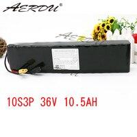 AERDU 10S3P 10.5Ah 36 в высокой мощности 42 в 18650 литиевая батарея ebike электрический автомобиль велосипед мотор скутер с 20A BMS