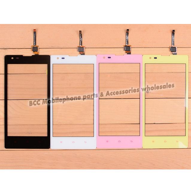 Nueva original para xiaomi hongmi redmi 1 s hm1s pantalla táctil panel táctil digitalizador de pantalla táctil + negro/amarillo/color de rosa/blanco frontal vidrio