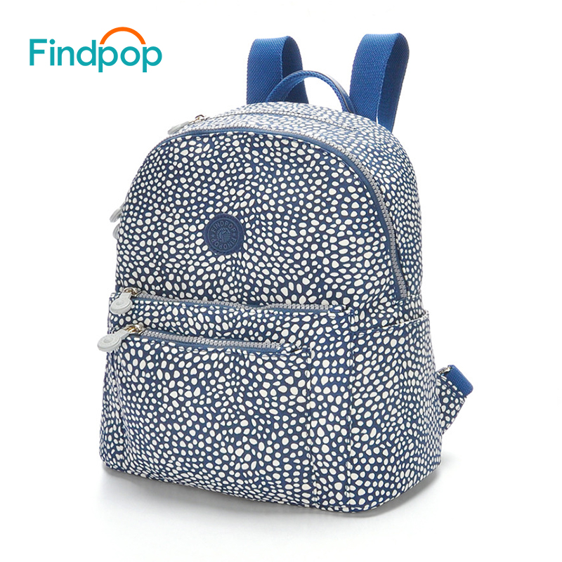 Findpop Large Capacity Backpack Women Casual Travel Backpack 2017 Waterproof School Bags For Teenager Canvas Anti