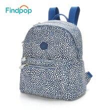 Findpop большой Ёмкость рюкзак женская Повседневная Путешествия Рюкзак 2017 Водонепроницаемый Школьные ранцы для подростка холст Anti-Theft рюкзак