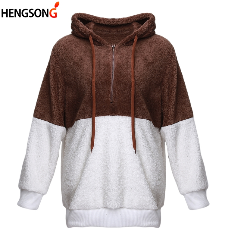 2018 Cute Harajuku Hoody Sweatshirt For Women Fashion Spring Autumn Warm Plush Pullover Tops Para Mujer Women Hoodies