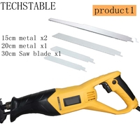 TECHSTABLE High quality 900w Reciprocating saw electric saber saw wood cutting metal cutting machine
