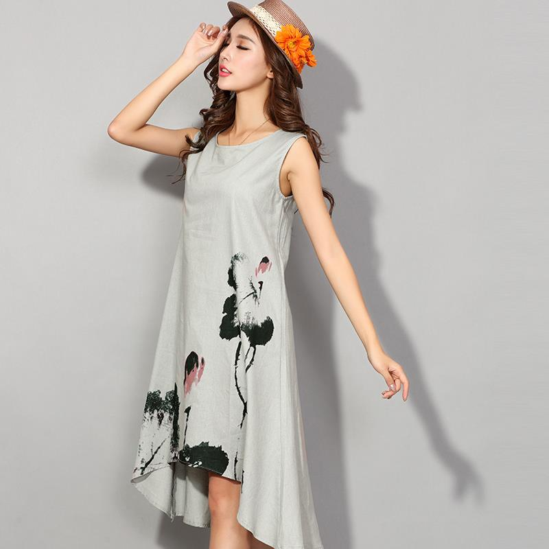 Summer Dress 2017 Vestidos Casual Dresses For Women Vintage Dress