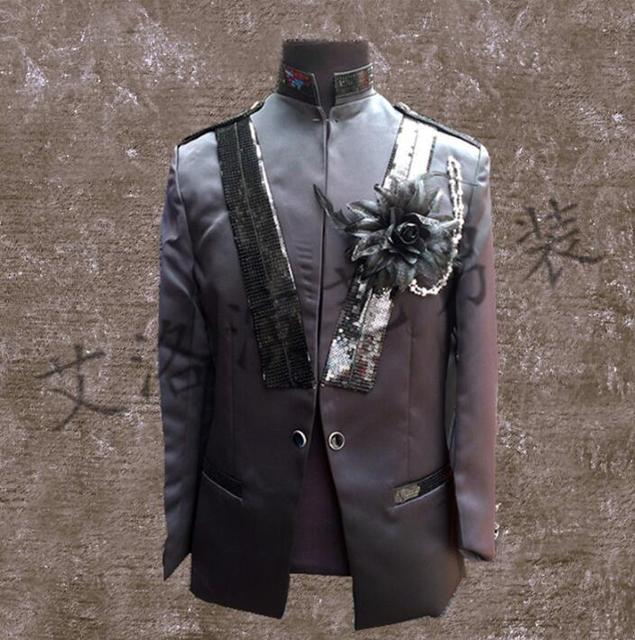 men groom suits designs homme terno stage costumes for singers men sequin  blazer dance clothes jacket 9b1bcc62fc7b