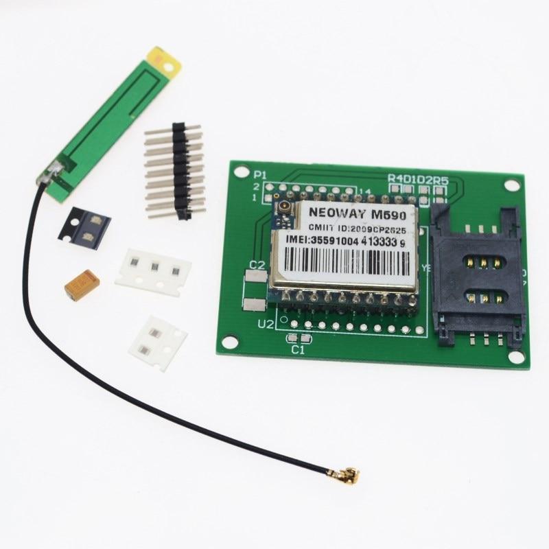 M590 GSM GPRS module development board learning board for arduino STM32 51 MCU Instead of SIM800L/SIM900 SMS message Very good