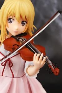 Image 4 - Figura de acción de your lie in, violín kaori miyazono de 23cm de PVC, figuras de juguete de coleccionismo, brinquedos