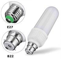 Flame Effect Bulb Dynamic KTV 3 Modes Bar E27 B22 9W Decoration Corn Light Atmosphere Lamp