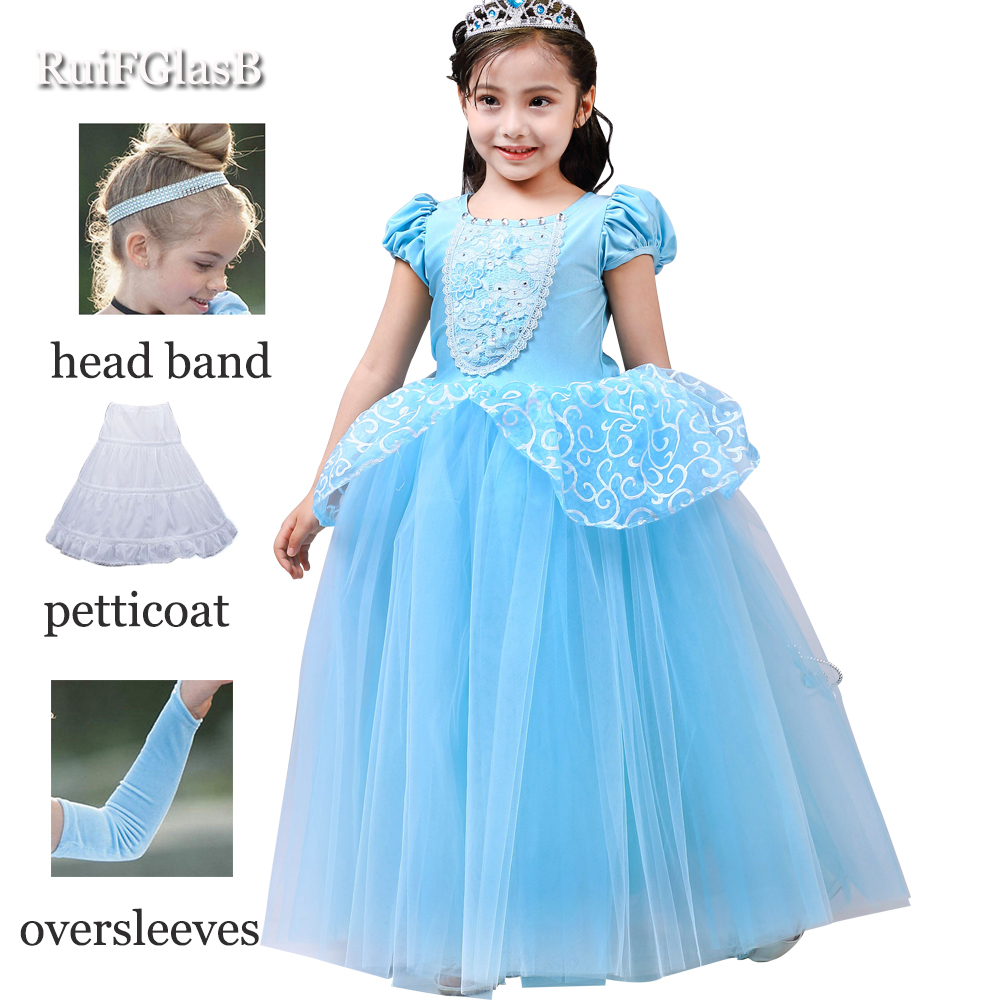 New Nip Disney Baby Girls Halloween Cinderella Costume 6: Aliexpress.com : Buy 2018 Summer Girls Princess Cinderella