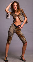 Adult Sexy Leopard Fancy Dress Costume For Women Halloween Party Cosplay Ysf8759