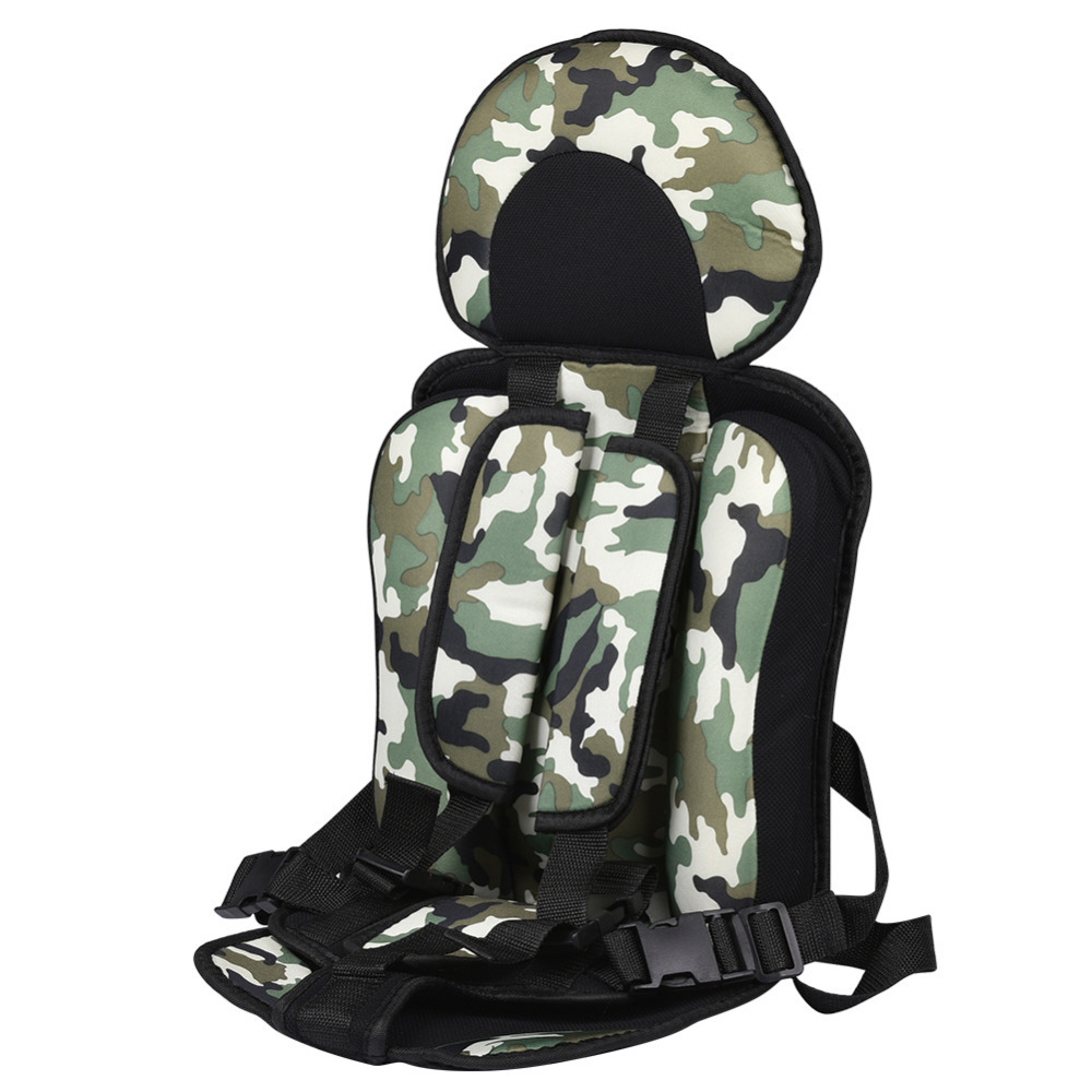 New Simple Safety Seats Portable Straps Children Cushion For Car Infant Baby Safety Chair Cushion Safe Toddler Booster Seat children red black adjustable cotton child car safety seats comfortable infant practical baby cushion for kids 9 months 12 years