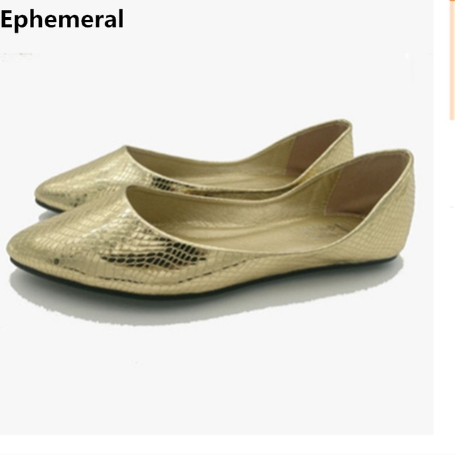 La Feminino Chaussures Taille 14 Mocassins 15 Plus Argent Or Dames 8vOwmn0N