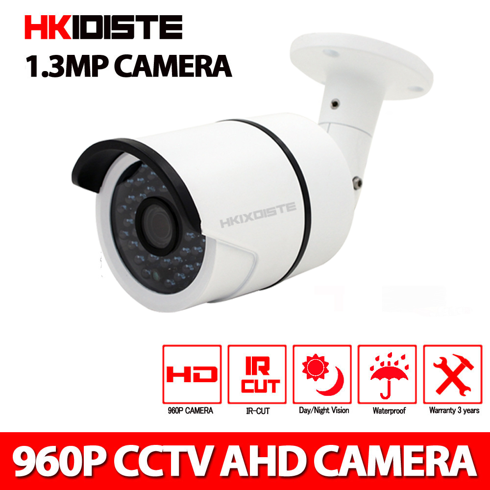 AHD Camera 3.6mm CCTV Camera Outdoor Night Vision HD 720P 960P P2P Surveillance Video Monitor 1.3MP Onvif ahd 720p 960p 1080p hd cctv camera security surveillance outdoor waterproof ip66 infrared night vision color 2 0mp home video