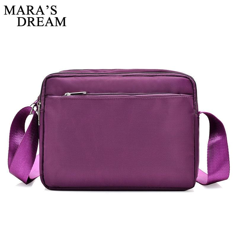 Mara's Dream Women Messenger Bags Waterproof Nylon Handbag Female Shoulder Bag Ladies Crossbody Bags Bolsa Sac A Main Femme De