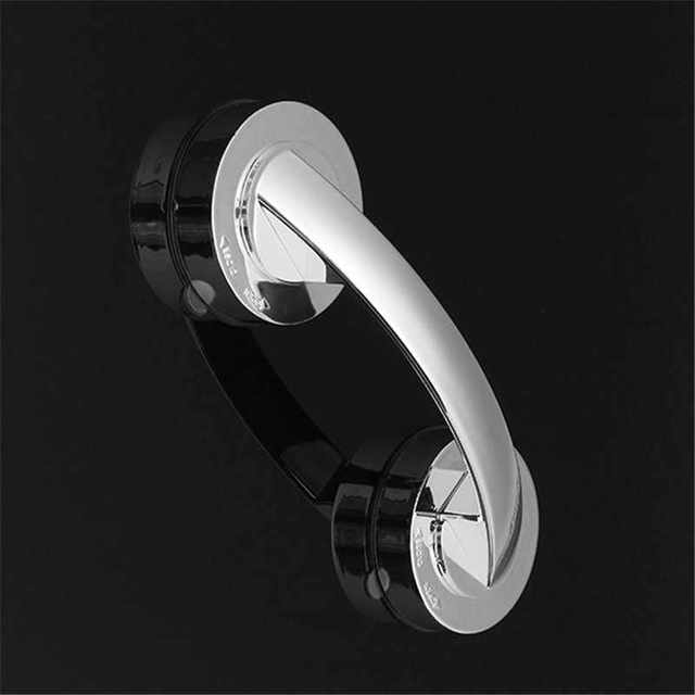 Bathroom Shower Room Safety Suction Cup Toilet Grab Bar Handle ...