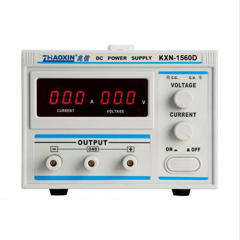 All New Digital KXN-1560D High-power Switching DC Power Supply, 0-15V Voltage Output,0-60A Current Output