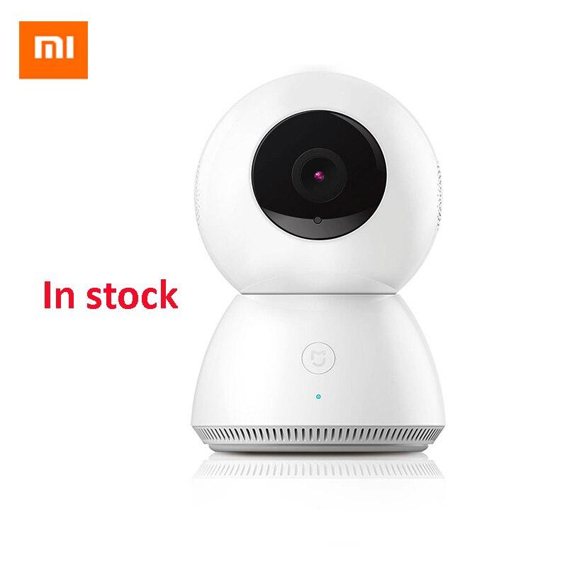 imágenes para Original xiaomi mijia inteligente cctv visión nocturna de la cámara del ip del webcam videocámara cámara 360 ángulo wifi wireless 1080 p remoto app control