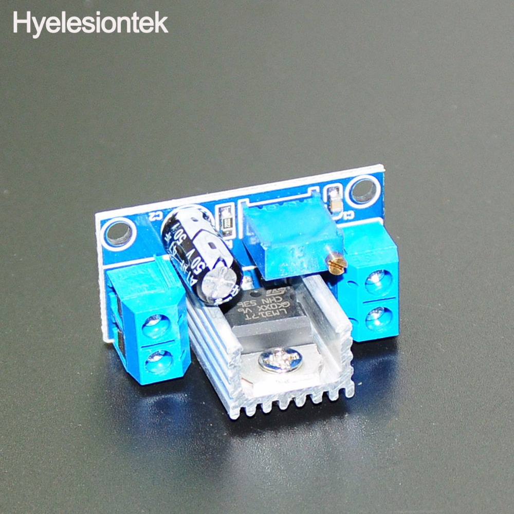 Lm317t 42 40v To 15 27v 15a Dc Converter Step Down Buck Cellphone Lithium Ion Battery Charger Circuit Of Lm317 Adapter Board Module Adjustable Linear Voltage Regulator In Replacement Parts