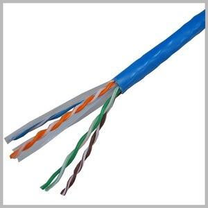 Image 4 - Сетевой кабель UTP CAT6 синего цвета, 305 футов, М, линия RJ45, медный провод OFC, витая пара, компьютерная Lan для инженерной гигабитной сети Ethernet