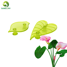 DIY 2PCS/SET Plastic Fondant Gumpaste Arum Lily And Leaf Baking Cookie Cutter Cake Mold Flower Decorating Tools For Cakes