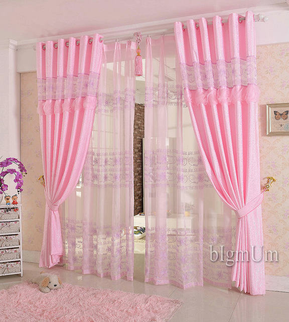 Online Shop Embroidered Curtains For Living Room/Bedroom/Hotel ...