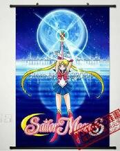 Домашнего декора аниме сейлор мун сейлор плакат стены прокрутки звезда в форме сердца косплей