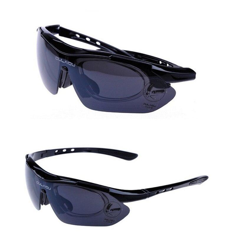 Anyoutdoor 2016 Polarized sunglasses Bicycle Bike Cycling eyewear UVA UVB  Sports Sun Glasses 5 Lens BLUE cycling goggle-in Cycling Eyewear from  Sports ... abad21e28720