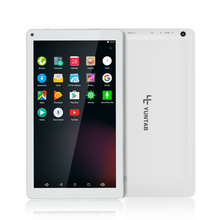 Yuntab white 10.1 inch D102 tablet Android 6.0  quad core 1 GB+8 GB with Dual camera, Google Play Pre-loaded,Supports 3D Games