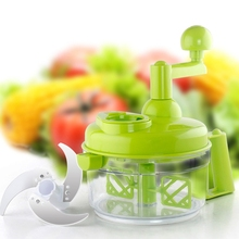 Manual Food Processor For Meat Vegetable Separator Convenient Blender Grinder