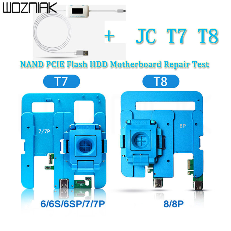 JC C1 Repair Box JC T7 T8 NAND PCIE Flash HDD Motherboard Repair Test Fixture Tool for iPhone Support pro1000s host цены онлайн