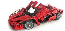 2015 CALIENTE Bela Enzo 1:10 Car Model Building Block Sets 1359 unids Jigsaw Educación de BRICOLAJE Construcción Ladrillos brinquedos legeod