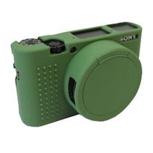 Силиконовые Камера Мягкий Чехол Защитная Крышка Кожи Для Sony DSC-RX100M5 RX100M4 RX100M3 V RX100 RX100 IV Мешок Камеры