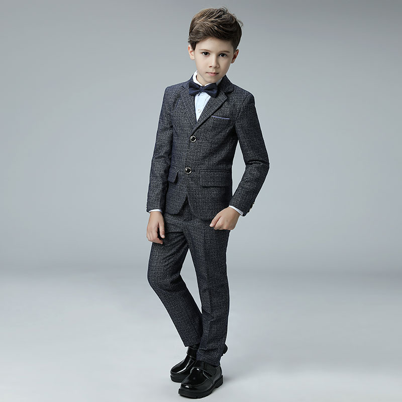 2018 winter kids nimble suit for boy formal suits for weddings costume children garcon mariage prom blazer toddler blazer