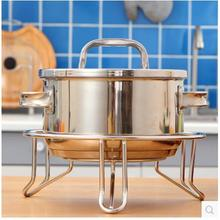 304 unembroidered steel kitchen tripod frying pan stand on the bottom pedestal stainless steel 304 burner beaker tripod stand alcohol lamp stand school educational chemistry equipment
