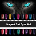 Gelart 18 Colors Long Lasting LED UV Nail Gel Polish Magnetic Color Gel Nail Lacquer Magnet Cat Eyes Gel Base Coat Top Coat
