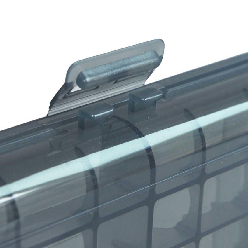 โปร่งใสร้อนแบบพกพาแบตเตอรี่พลาสติกเคสผู้ถือแบตเตอรี่กล่องแบตเตอรี่ S/M/L