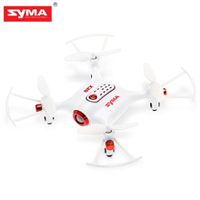 SYMA X20-S Mini RC Drone RTF G-Sensor Mode 2.4GHz 4CH 6-Axis Gyro One Key Takeoff Flashing Portable Pocket Drones Rc Helicopter