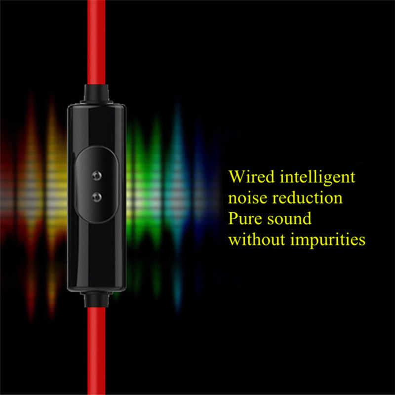 3.5mm Wired אוזניות סטריאו אוזניות ב-אוזן עם מיקרופון אוזניות עבור Xiomi Xaomi Iphone Xiaomi נייד טלפון MP3 מחשב משחקים Auriculares
