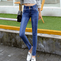 High Waist Jeans Real In The Autumn Of 2016 New Slim Feet Pencil Pants Denim Trousers Ladies Taobao Agent On Behalf Of Students