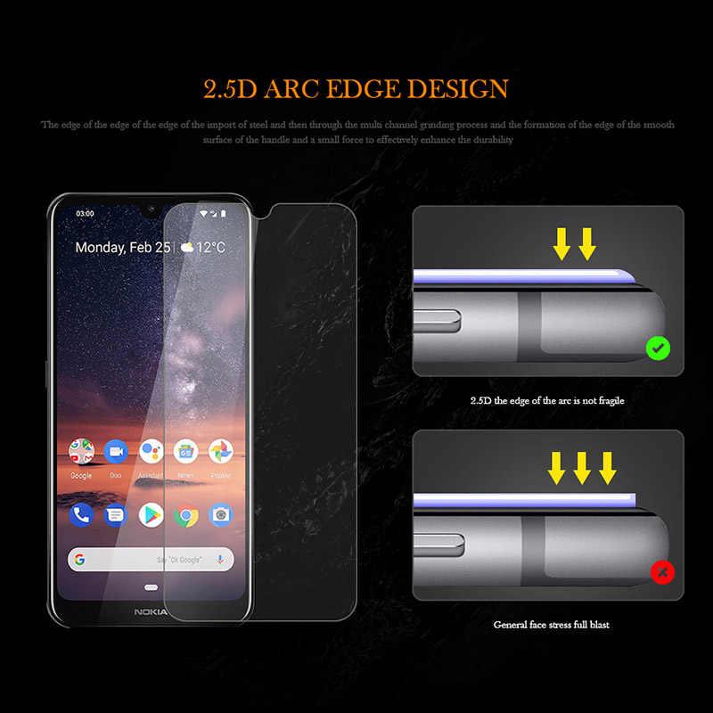 Verre trempé pour Nokia 3.2 protecteur d'écran 9H 3D Premium Film de verre pour Nokia 3.2 6.26 pouces Film de protection verre garde